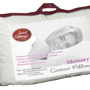 Memory contour pillow