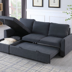 Michigan Pull out Sofabed with chaise