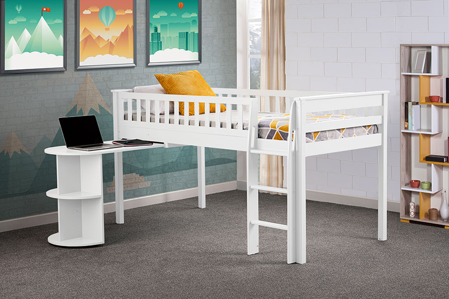 Midway high sleeper in white
