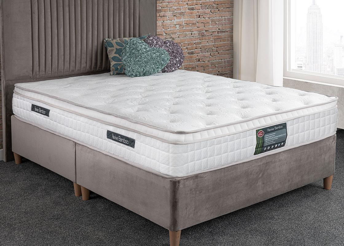 Roll up bamboo mattress
