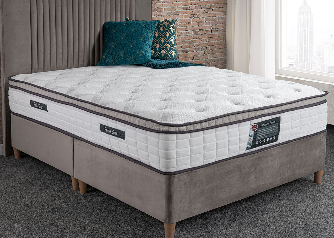 roll up mattress with silver ions